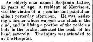 No title. (1888, August 21). The Ballarat Star (Vic. : 1865 - 1924), p. 2. Retrieved October 25, 2015, from http://nla.gov.au/nla.news-article209446656