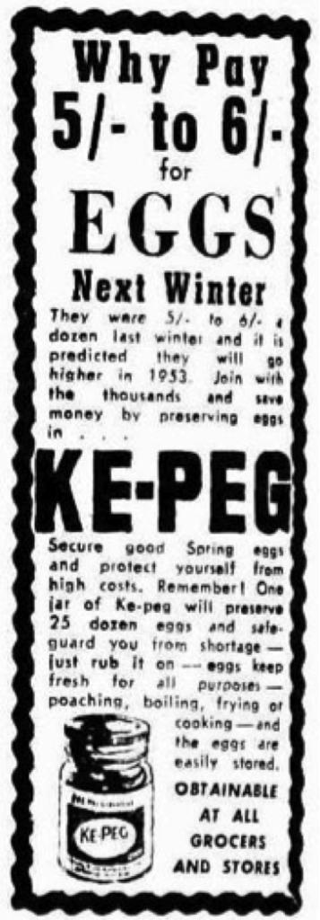 Advertising (1952, October 11). The Age (Melbourne, Vic. : 1854 - 1954), , p. 4. Retrieved April 12, 2016, from http://nla.gov.au/nla.news-article205413335